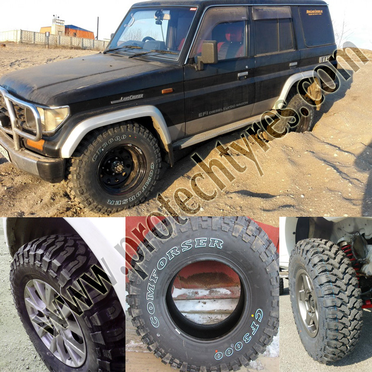 Comforser CF3000 MUD TYRES FROM CHINA with cheap price
