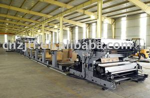 2-4 Layers Kraft Paper Cement Bag Making Machine