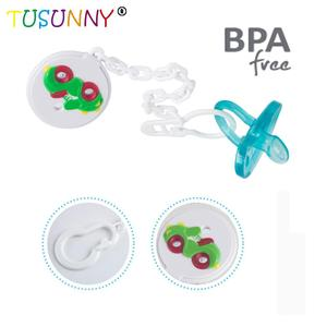 Wholesale Silicone Funny Nipple With Belt Clamp Baby Pacifier