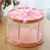 2019 New Round Cake Box Clear Round Pattern Transparent Flower Gift Box Lovely Goods Lego Gift Dustproof Exhibition Storage Box