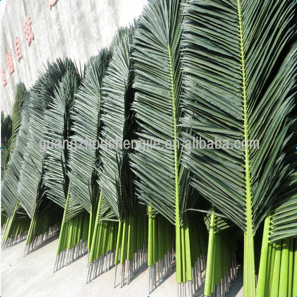 q072606 outdoor uses of artificial palm tree leaves artificial coconut leaf buy coconut leaf. Black Bedroom Furniture Sets. Home Design Ideas