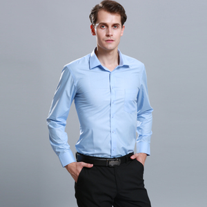 Long Sleeve Business Wear Employee Uniforms Shirt Office Uniform