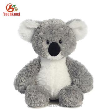 Custom Mini Australia Logo Stuffed Plush Koala Bear Soft Toys For