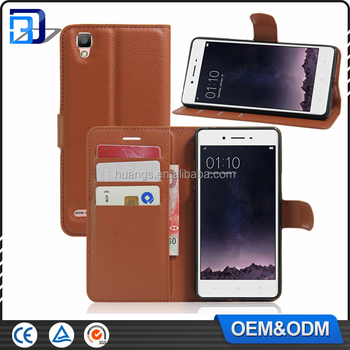For Oppo F1 Caselitchi Design Credit Card Wallet Stand Leather