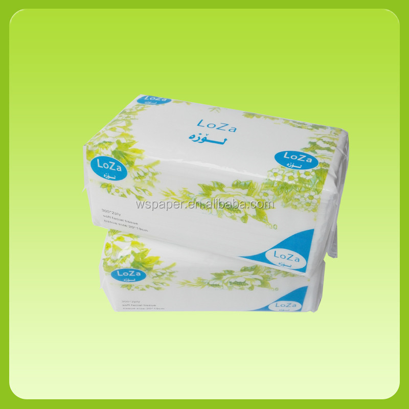 2019 factory hot sale  price facial soft pack facial tissue custom printed facial tissue