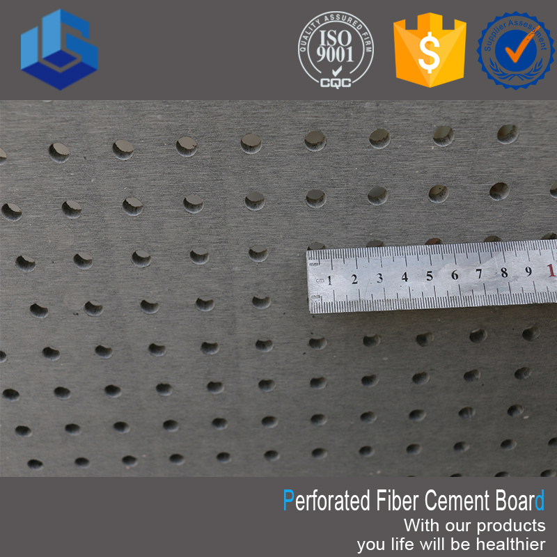 1200 *2400 mm Facade High Quality Perforated Fiber Cement Board/ Panels Price