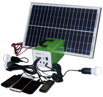 Eco Dc Ups 10w 20w 30w Portable Led Mini Solar Home Lighting System 10 Smart Bank