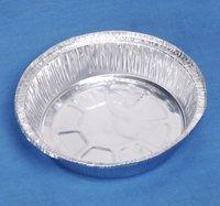 round aluminum foil pie pan