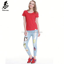 China factory wholesale organic cotton t shirt