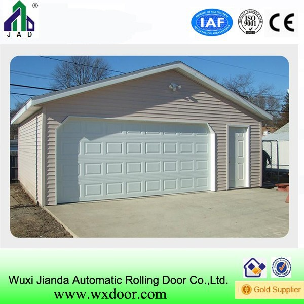 Automatic sectional garge door