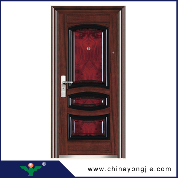 Yujie High Quality Lowes Metal Exterior Interior Double Steel Doors Buy Met