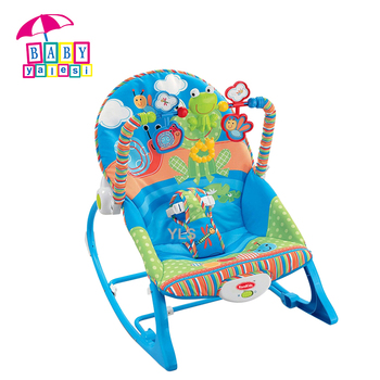 Newborn To Toddler Plush Baby Rocking Chair With Vibration And Music   Buy  Baby Bouncer With Vibration And Music,Soft Rocking Lamb/plush ...