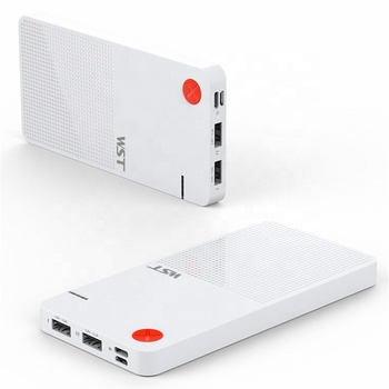Shenzhen WST usb-c / micro usb new 10000 mah products power banks for phones