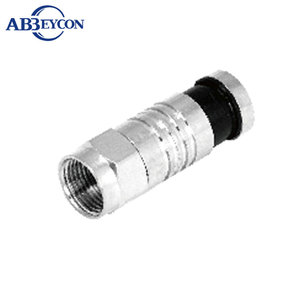 ABO-I004 Waterproof Rg59 Rg6 Rg11 Compression F Male Connector