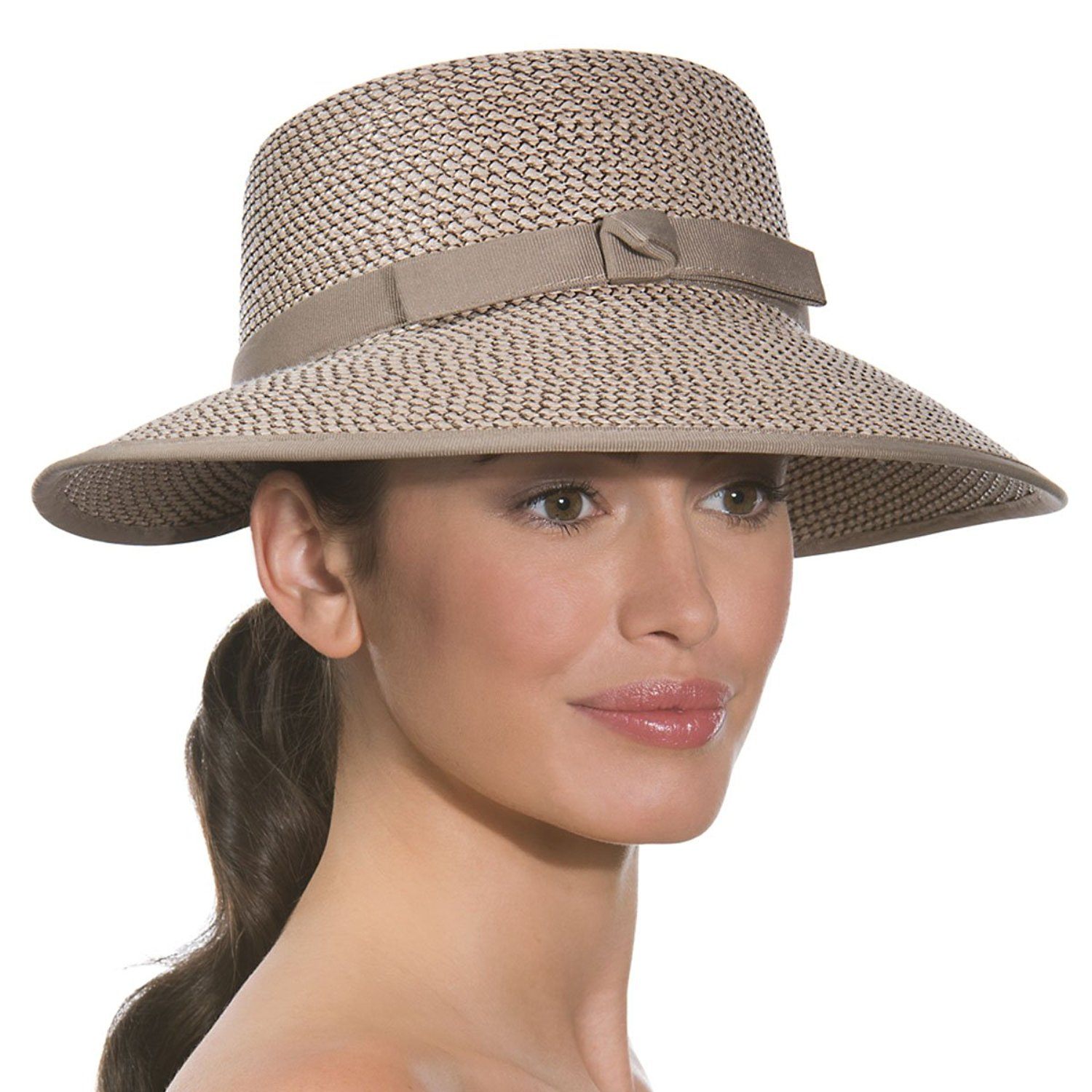 Get Quotations · Eric Javits Luxury Woman s Hat Squishee Cap (Bark) c4132bcc5b4