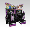 Hot Sale Sumilator Video Race Simulator Racing Machine Initial D Arcade Stage 4 Race Car Game