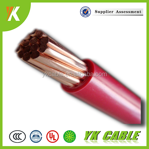 Fine copper cloth covered electrical wire and cable 16mm