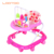 Baby Products Walking Trolley Toy Plastic Educational Baby Walker Pink