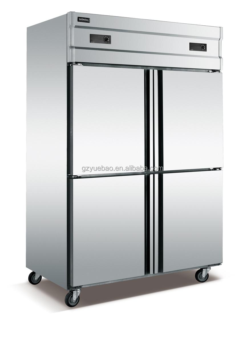 1500l industrisl commercial used 4 doors upright refrigerator deep freezer buy freezer deep. Black Bedroom Furniture Sets. Home Design Ideas