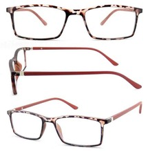 New fashion high quality wholesale plastic PC Unisex FDA CE reading glasses