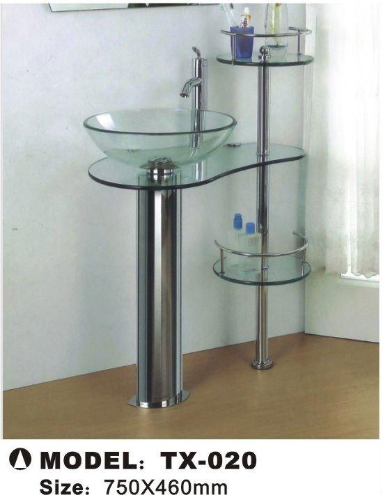 Lavabo de cristal lavabos identificaci n del producto for Lavabo vidrio