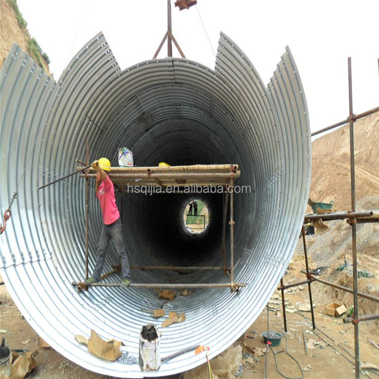 Anticorrosive corrugated steel pipe is the best choice for harsh environment