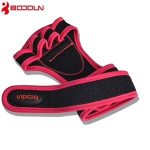 2018 Boodun Fashion gym manufacturer weight lifting protective training gloves