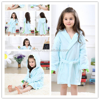 5ff2129fae Ebay Hot Sale China Bathrobe Manufacturer Wholesale Kids Spa Robes Animal  Hooded Cute Baby Bathrobe