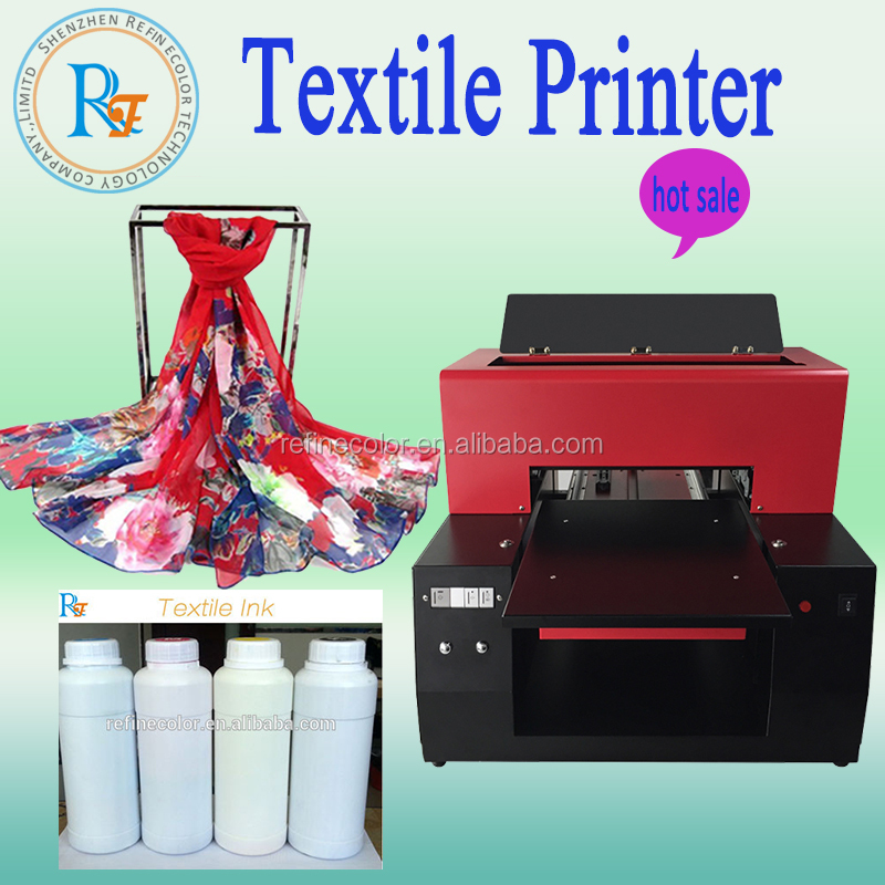 Popular head scarves INJECT printer a3 printing machine