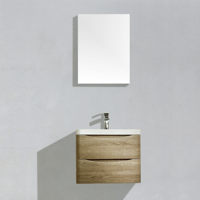 Popular Soft Drawer Slimline Single Basin Floor Model Bath