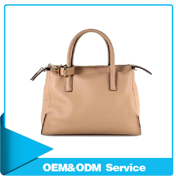 High Quality New Design Custom Las Bag Brand Real Leather Handbag Manufacturer Asia