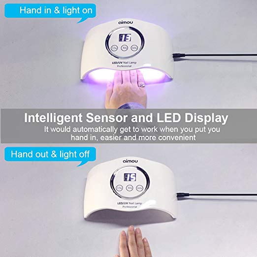 New 24W portable nail dryer LED display