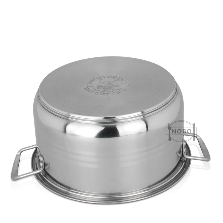 Kitchen Commercially Food Cooking Pot Stainless Steel Hot Pot Casserole Sets