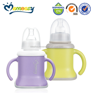 New Non-Spill baby training cup with nipple