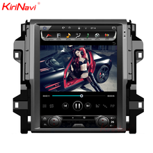 "KiriNavi Verticale Dello Schermo Tesla Stile 12.1 ""android car dvd player sistema multimediale per toyota fortuner 2016-"