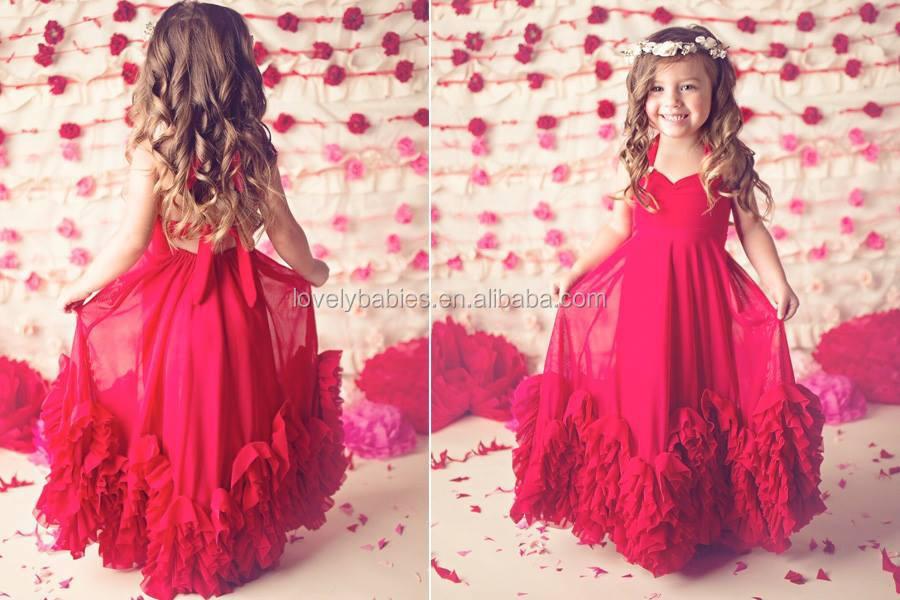 Images of Kids Maxi Dresses - Reikian