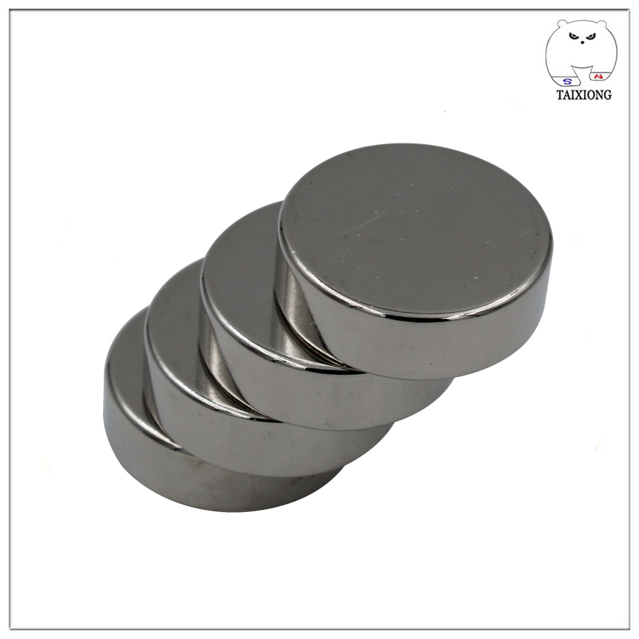 150 Lbs Pulling Force 1.89 Diameter x 1/2 Thick Powerful Neodymium Cup Magnet With Countersunk Hole for #10 Flat Head Screw