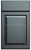 European Style PVC Membrane MDF Cupboard Book Cabinet Kitchen Door Only