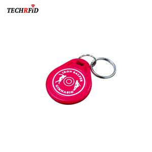 Access Control Customized Homemade Logo Printing Keychain
