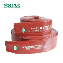 Neetrue high quality agricultural irrigation lay flat water pump hose pipe high pressure flexible pvc lay flat hose