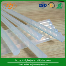 Direct buy china Good adhesion strength sticky translucent hot melt glue stick