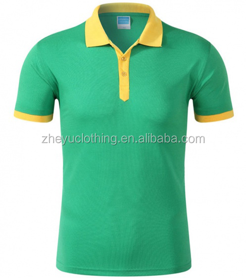 Knitting cotton polo shirt with pocket/ export unisex polo shirt