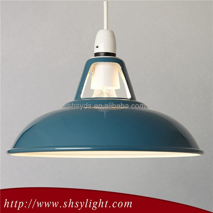 Promotional hot sale gold Street Light Lamp Shade