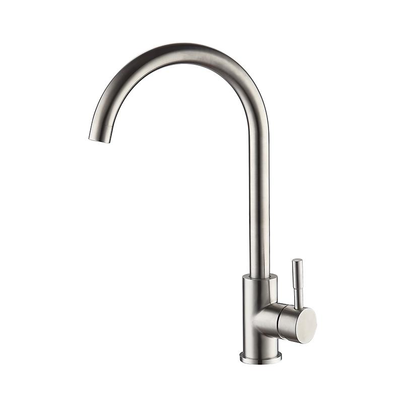 Accoona 304 фильтр для питьевой воды из нержавеющей стали кухонный кран для кухонной раковины кран 360 горячей и холодной воды A4590(Китай)