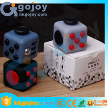 2017 new arrivals puzzle toy Fidget Cube Dice Anxiety Attention Stress Relief Novelty Mini Cube Toy for children and adults