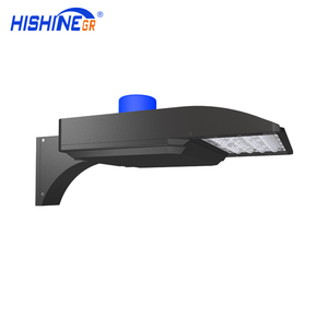 UL DLC cUL Approved 90-305V 480V 170lm/W Replacement Area Shoebox LED Parking Lot Lighting with Slip Fitter for Car Parking