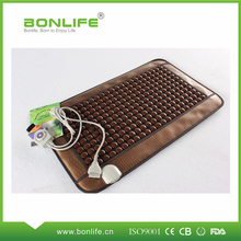 Fast supplier deep heating moxibustion korea electric heating jade mattress