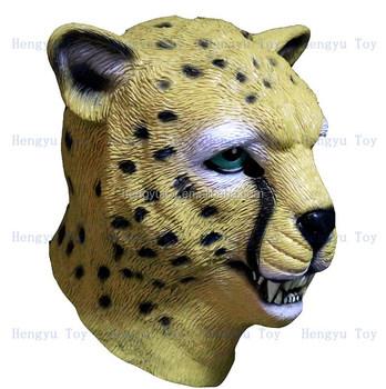Cheetah Jungle Zoo Animal Leopard Mask Adult Latex Jaguar Costume Prop Mask  sc 1 st  Alibaba & Cheetah Jungle Zoo Animal Leopard Mask Adult Latex Jaguar Costume ...