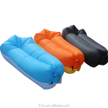 Inflatable Air Sofa Bed Lazy Bag For Outdoor Camping