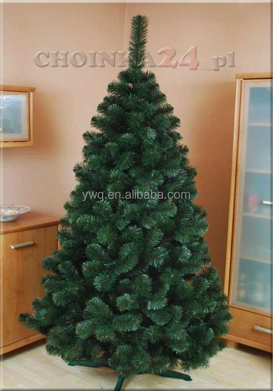 2014 new mixed 5 foot 800 tips dense green artificial pine needle christmas tree hook structure - 5 Foot Christmas Tree
